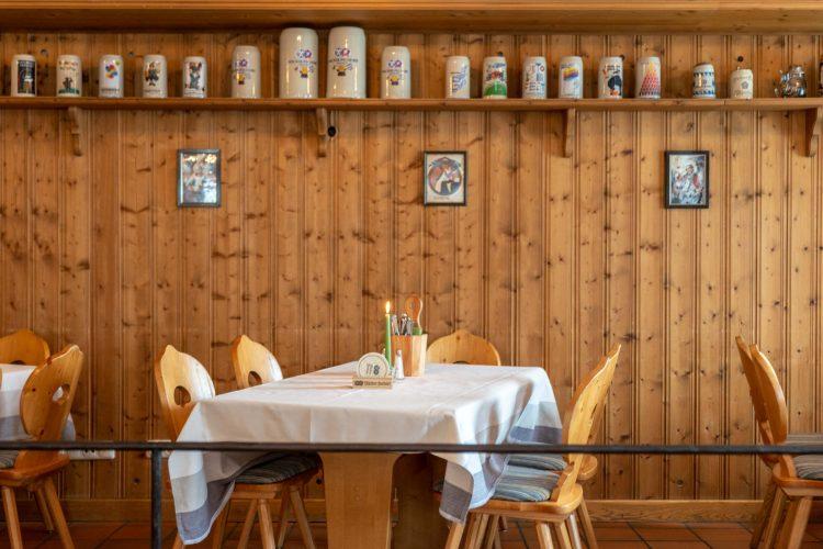 Hotel Stern Seehausen Restaurant Dekoration