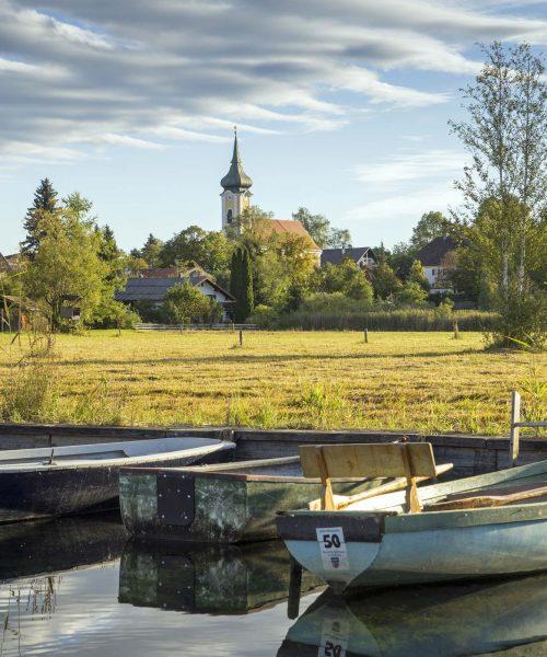 Staffelsee Ruderboote See